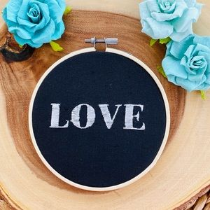 Decor | Wall Art with the word love